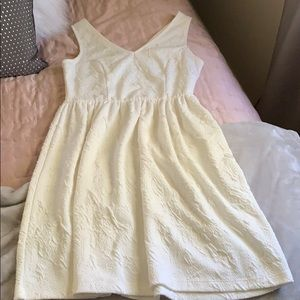 Everly, white dress-worn once.